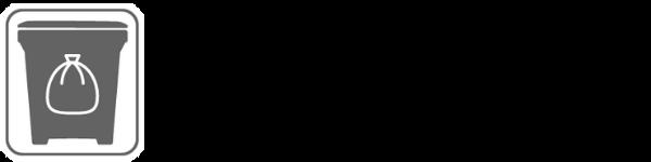 Pojemnik czarny lub szaryKolory pojemników do segregacji: odpady zmieszane wrzucamy do pojemnika szarego lub czarnego