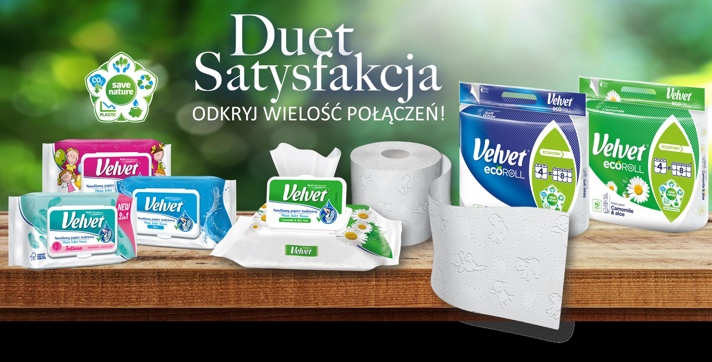 Duet Satysfakcja – odkryj wielość połączeń – produkty Velvet