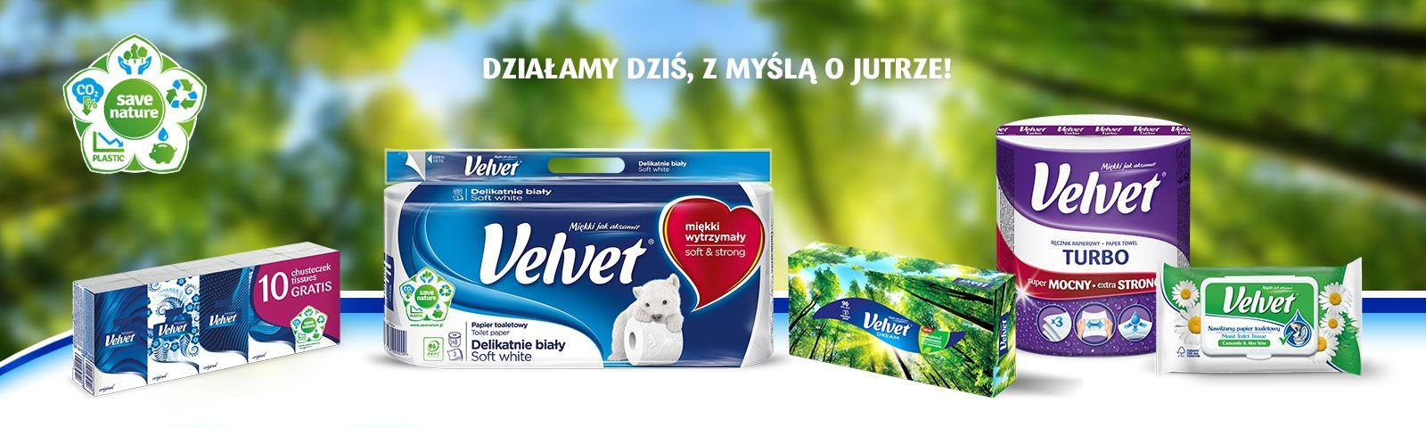 Natura to najcenniejszy skarb – Kampania Velvet ECO