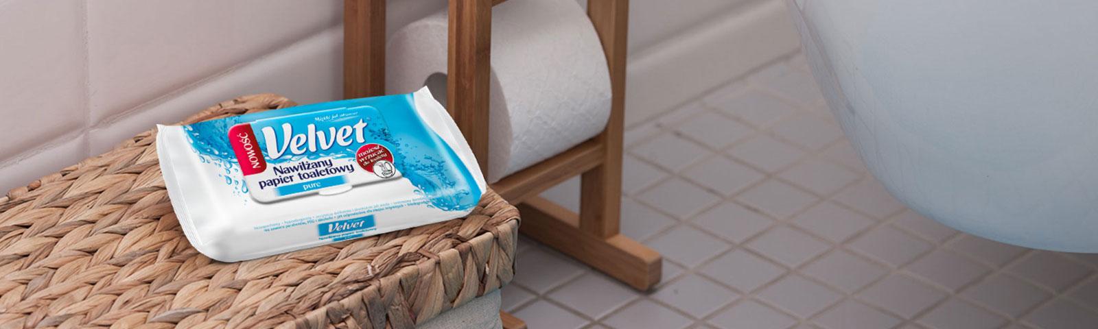 Komfort i świeżość na co dzień – nowy wariant papieru nawilżanego