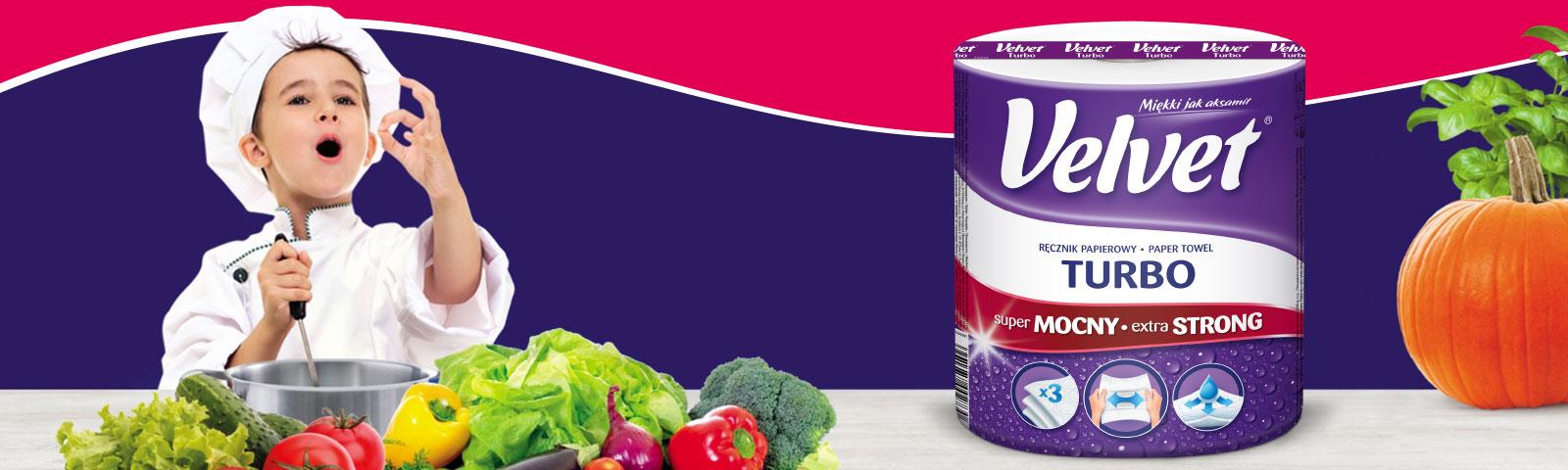 Velvet wspiera młodych kucharzy w 3. edycji programu Masterchef Junior.